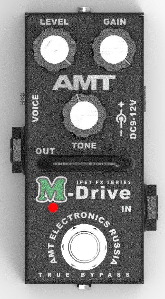 AMT  MD-2 M-Drive mini Гитарная педаль перегруза