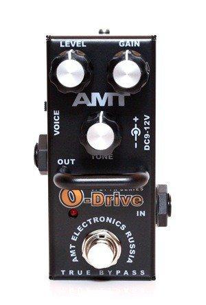 AMT OD-2 O-Drive mini Гитарная педаль перегруза, AMT Electronics