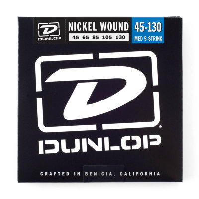 45-130 Dunlop DBN45130 5-string Nickel Plated Bass
