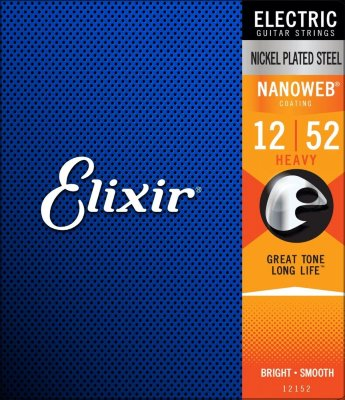 12-52 Elixir 12152 Nanoweb Electric Heavy