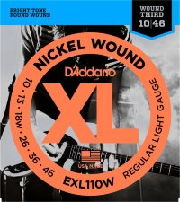 D'Addario EXL110W 10-46 Regular Light 3rd Wounded Струны для электрогитары