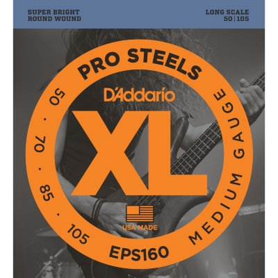 50-105 D`Addario EPS160 Medium Bass
