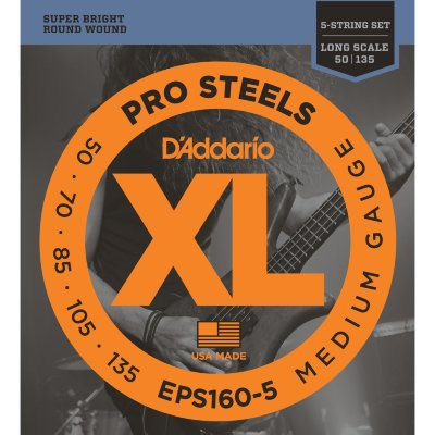 50-135 D`Addario EPS160-5 Pro Steels Medium