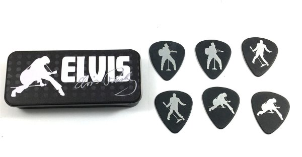 Dunlop Elvis Presley Silhouettes EPPT09 Pick Tin