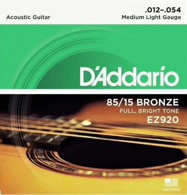 12-54 D`Addario EZ920 Bronze Medium Light
