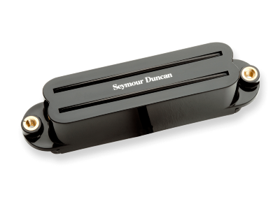 Seymour Duncan SCR-1b Cool Rails For Strat Bridge Black