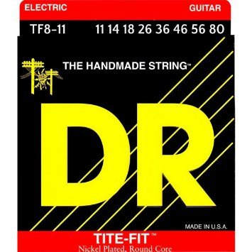 11-80 DR TF8-11 Tite Fit 8-String Heavy