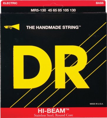 45-130 DR MR5-130 Hi-Beam Stainless Steel 5-string Bass