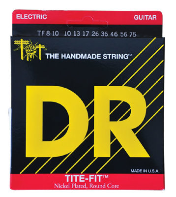 10-75 DR TF8-10 Tite Fit 8-String Heavy