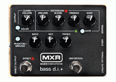 MXR M80 Bass Distortion+