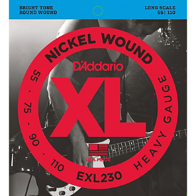 55-110 D`Addario EXL230 Nickel Wound Electric Bass